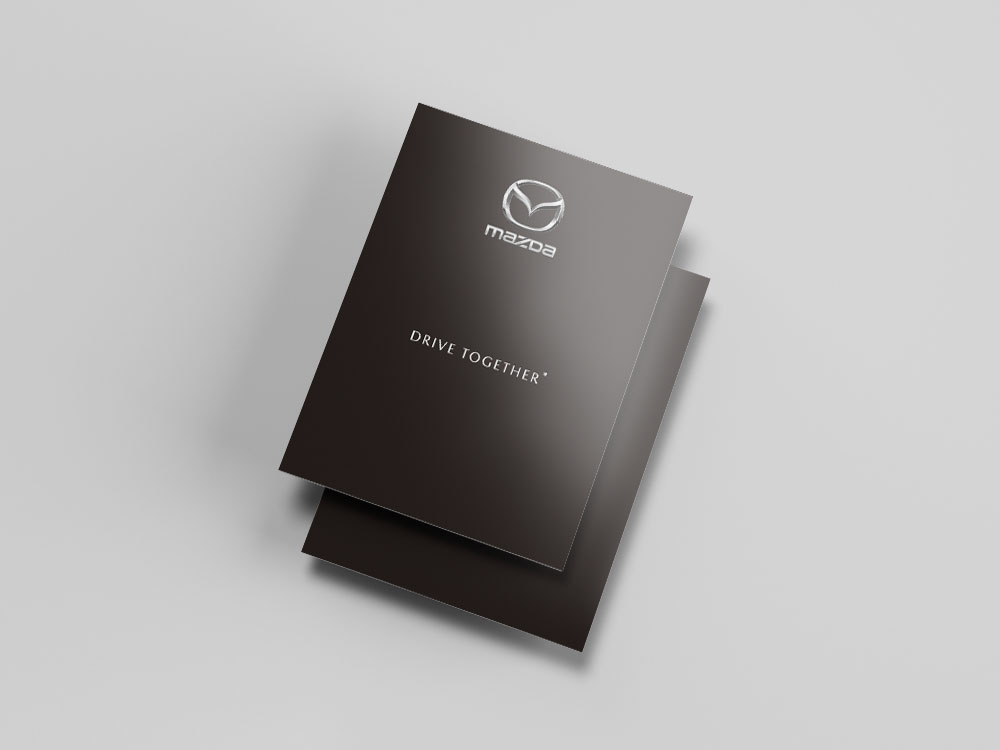 Couverture livret invitation au voyage mailing Mazda6