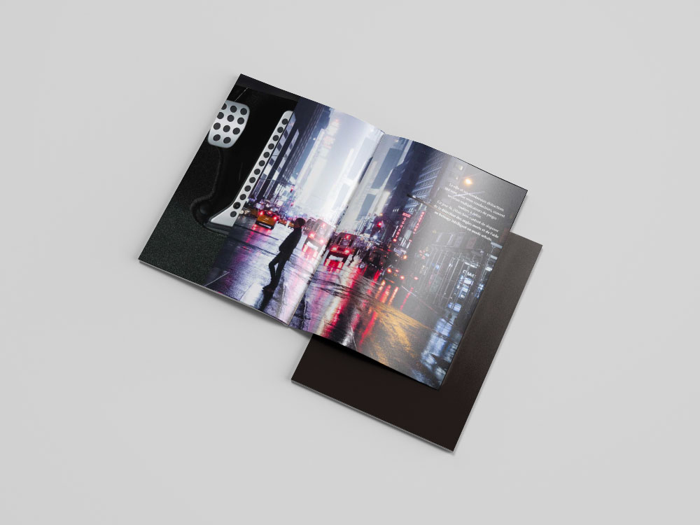 Intérieur livret invitation au voyage mailing Mazda6